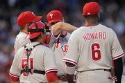 Cole Hamels and Rich Dubee Photos Photo