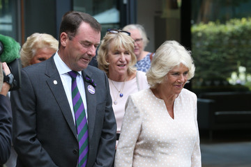 Philip Brook The Duchess Of Cornwall Attends The Championships, Wimbledon