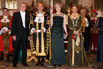 Philip May New Lord Mayor Hosts the Prime Minister and Archbishop for Annual Banquet