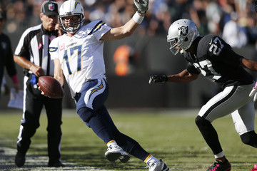 Philip Rivers San Diego Chargers v Oakland Raiders