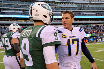 Philip Rivers Los Angeles Chargers vNew York Jets