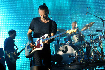 Philip Selway Radiohead Perform At The 02 Arena
