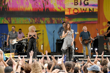 Philip Sweet Little Big Town Performs on ABC's 'Good Morning America'