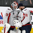 Philipp Grubauer 2018 NHL Stanley Cup Final - Game Two