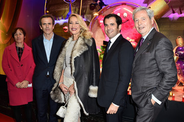 Philippe Houze Galeries Lafayette Christmas Decorations Inauguration