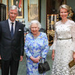 Philippe of Belgium King Philippe of Belgium and Queen Mathilde of Belgium Attend An Audience with the Queen