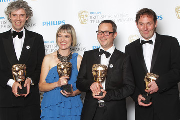 Andrew Palmer Philips British Academy Television Awards - Winners Boards
