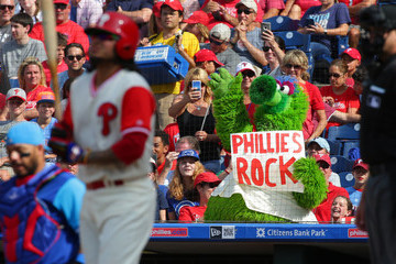 Phillie Phanatic Chicago Cubs v Philadelphia Phillies