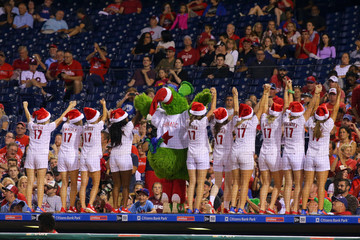 Phillie Phanatic Houston Astros v Philadelphia Phillies