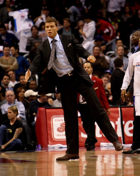 blake griffin los angeles clippers. Blake Griffin Injured forward