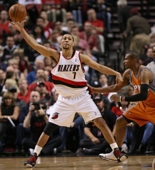 Brandon Roy In Phoenix Suns V Portland Trail Blazers, Game