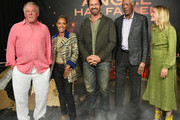 "Nick Nolte, Jada Pinkett Smith, Gerard Butler, Morgan Freeman and Piper Perabo attend the Photocall For Lions Gate's ""Angel Has Fallen"" at the Beverly Wilshire Four Seasons Hotel on August 16, 2019 in Beverly Hills, California."