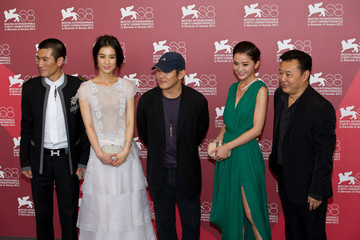 Raymond Lam Photocalls: 68th Venice Film Festival - Jaeger-LeCoultre Collection