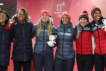 Phylicia George Elana Meyers-Taylor Bobsleigh - Winter Olympics Day 12