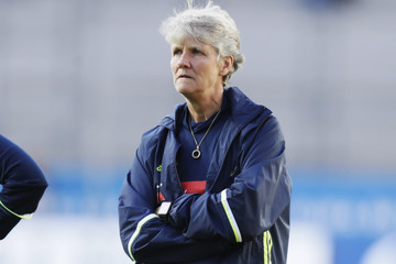 Pia Sundhage USA Women v Sweden Women - International Friendly