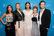 Lily Sullivan, Natalie Dormer, Lola Bessis, Emily Gruhl and Harrison Gilbertson attend the 'Picnic at Hanging Rock' premiere during the 68th Berlinale International Film Festival Berlin at Zoo Palast on February 19, 2018 in Berlin, Germany.
