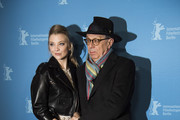 Natalie Dormer and festival director Dieter Kosslick attend the 'Picnic at Hanging Rock' premiere during the 68th Berlinale International Film Festival Berlin at Zoo Palast on February 19, 2018 in Berlin, Germany.