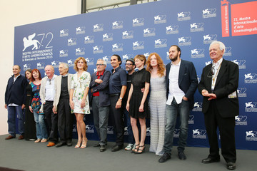Pier Giorgio Bellocchio 'Blood of My Blood' Photocall - 72nd Venice Film Festival