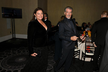 Pierce Brosnan 77th Annual Golden Globe Awards - Cocktail Reception