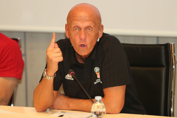 Pierluigi Collina FIFA Referee Seminar - Media Day