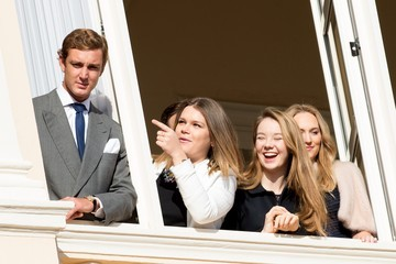 Pierre Casiraghi Official Presentation of the Monaco Twins