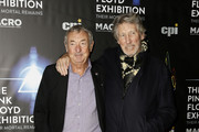 Nick Mason and Roger Waters attend 'The Pink Floyd Exhibition: Their Mortal Remains' exhibition opening at MACRO on January 16, 2018 in Rome, Italy.