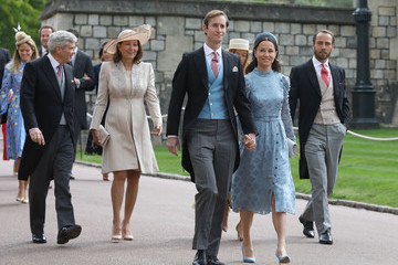 Pippa Middleton The Wedding Of Lady Gabriella Windsor And Mr. Thomas Kingston