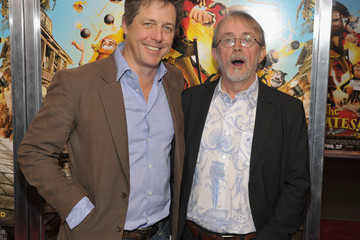 """Hugh Grant Peter Lord """"The Pirates! Band of Misfits"""" New York Screening"""