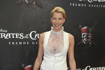 """Giulia Siegel """"Pirates Of The Caribbean: On Stranger Tides"""" Germany Premiere"""