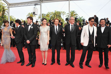 "Jerry Bruckheimer Geoffrey Rush ""Pirates of the Caribbean: On Stranger Tides"" Premiere - 64th Annual Cannes Film Festival"
