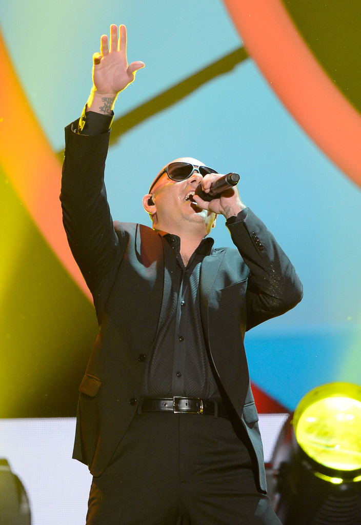 Pitbull - Nickelodeon's 26th Annual Kids' Choice Awards - Show