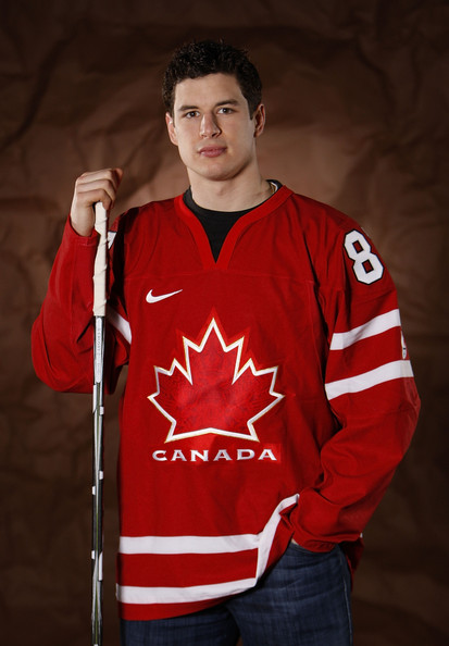 Sidney+Crosby in Pittsburgh Penguins Olympic Player Photo Shoot