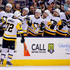 Patric Hornqvist Photos - Patric Hornqvist #72 of the Pittsburgh Penguins is congratulated by his teammates after scoring a goal during the first period of the game against the Columbus Blue Jackets on April 5, 2018 at Nationwide Arena in Columbus, Ohio. - Patric Hornqvist Photos - 47 of 826