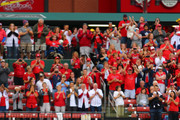 Matt Holliday #7 of the St. Louis Cardinals acknowledges the fans after taking the field for the last time as a member of the St. Louis Cardinals during the ninth inning of a game against the Pittsburgh Pirates at Busch Stadium on October 2, 2016 in St. Louis, Missouri.