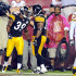 Carey Davis Photos - Willie Parker #39 of the Pittsburgh Steelers celebrates with Carey Davis #38 after scoring a touchdown against the Washington Redskins at Fed Ex Field on August 22, 2009 in Landover, Maryland. - Pittsburgh Steelers v Washington Redskins