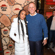 Kerry Washington and Scott Orlin