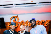 Quentin Richardson, Deon Harris from Hennessy and Darius Miles attend The Players' Tribune + Heir Jordan Host Players' Night Out At The Royale Party at Bounce Sporting Club in Chicago on February 13, 2020 in Chicago, Illinois.