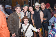 (L) to (R) Eric Podwall, Brandon Flynn, Kevin Rios and guests attend Podwall Entertainment's 9th Annual Halloween Party Presented By Makers Mark at The Peppermint Club on October 31, 2018 in Los Angeles, California.