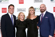 (L-R) Point Foundation Executive Director and CEO Jorge Valencia, Arianne Sutner, Debbie Gibson and Chris Butler attend Point Honors Los Angeles 2019, Benefitting Point Foundation at The Beverly Hilton Hotel on October 12, 2019 in Beverly Hills, California.
