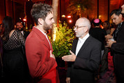 """Ben Platt (L) and Bob Balaban attend Netflix's """"The Politician"""" Season One Premiere After Party at THE POOL on September 26, 2019 in New York City."""