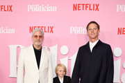 "Ryan Murphy and David Miller attend Netflix's ""The Politician"" Season One Premiere at DGA Theater on September 26, 2019 in New York City."