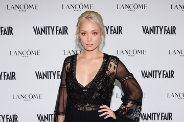 Pom Klementieff Vanity Fair And Lancome Toast To The Hollywood Issue