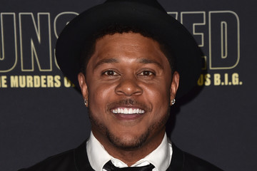 Pooch Hall Premiere Of USA Network's 'Unsolved: The Murders Of Tupac And The Notorious B.I.G.' - Arrivals