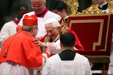 Willem Jacobus Eijk Pope Benedict XVI Holds Concistory
