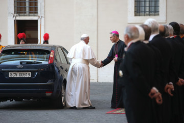 Pope Francis I Pope Francis Meets European Leaders