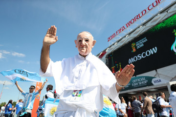Pope Francis I Argentina vs. Iceland: Group D - 2018 FIFA World Cup Russia