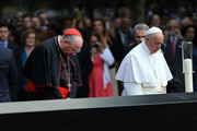 Cardinal Timothy Dolan and Pope Francis I Photos Photo