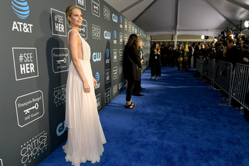 Poppy Delevingne The 24th Annual Critics' Choice Awards - Red Carpet