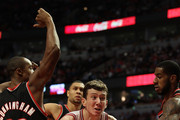 Dante Cunningham and Omer Asik Photos Photo