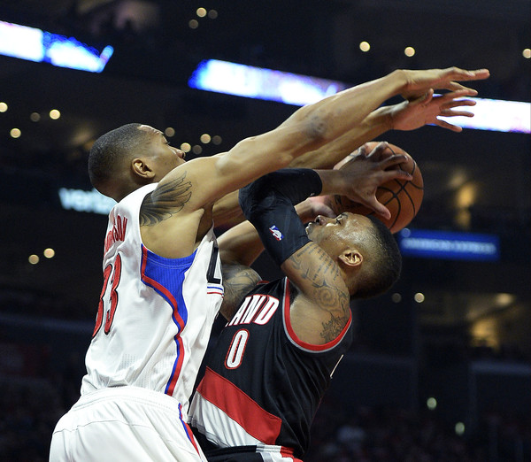 Portland Blazers Game: Portland Trail Blazers V Los Angeles Clippers